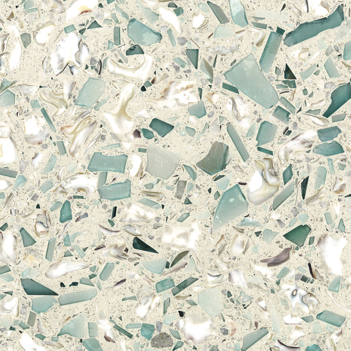 Emerald Coast Vetrazzo Product Sheet Recycled Glass