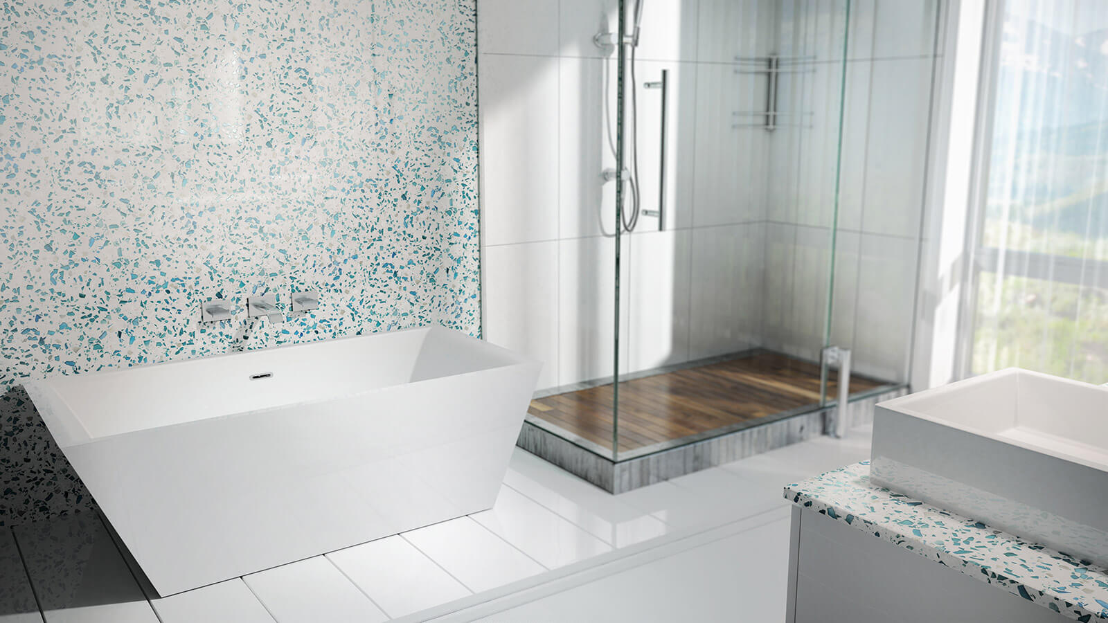 Vetrazzo — Recycled Glass Countertops, Mosaics, Tiles, Flooring and ...