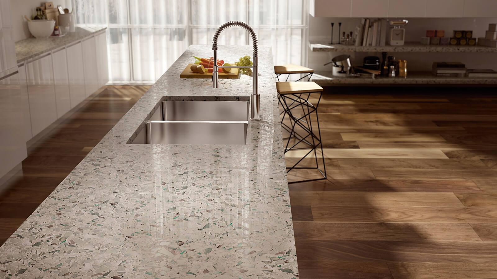 Vetrazzo Recycled Glass Countertops Mosaics Tiles