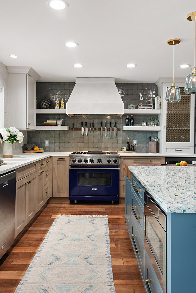 Bretagne Blue Kitchen